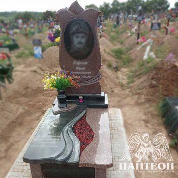Вазон на кладбище