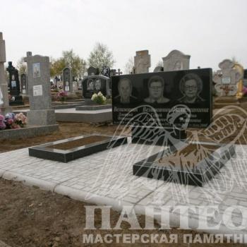 Памятник двойной № 4