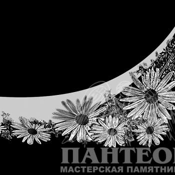 Гравировка орнамент цветочный 1