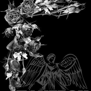 Гравировка орнамент из роз 2