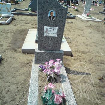Памятник из крошки № 8