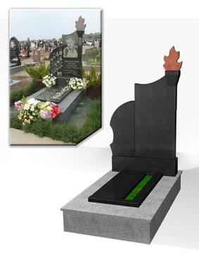 3D дизайн памятника фото