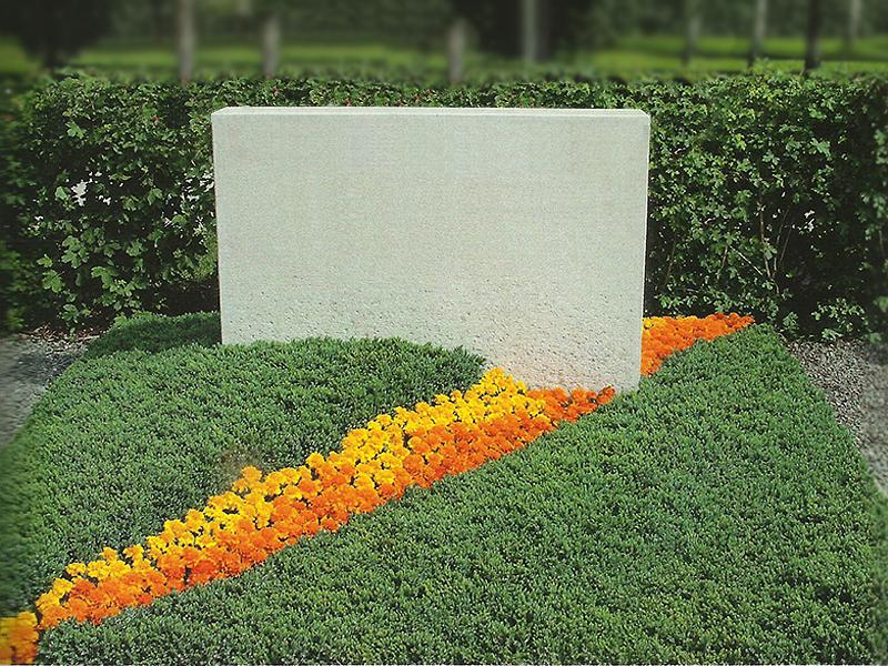 озеленения надгробий