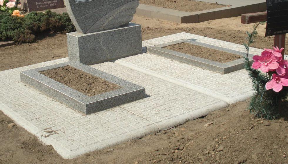 бетонные плиты под памятник